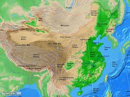 South Asia Physical Map by China Physical Map A Learning Family