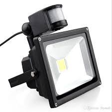Outdoor Led Flood Lighting - pir motion sensor led floodlights waterproof ip65 10w 20w 30w 50w