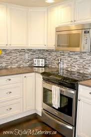 Kitchen Backsplash Photos White Cabinets by White Cabinet Marble Countertop Modern Subway Kitchen Backsplash