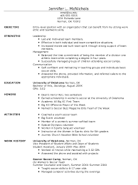 Soccer Resume Example by Example Of Student Athlete Resume Http Exampleresumecv Org