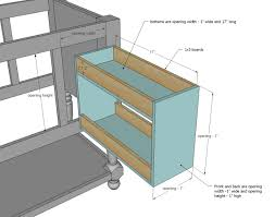Kitchen Cabinets With Drawers That Roll Out by Ana White Pull Out Drawers Diy Projects