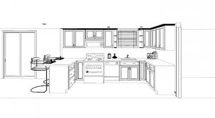 Simple Kitchen Cabinets Design Layout Throughout Inspiration - Kitchen cabinet design template