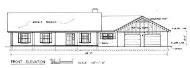 Floor Plan Front View by Free Country Ranch House Plans Country Ranch House Floor Plans