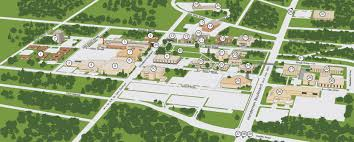American University Campus Map Interactive Campus Tour Kilgore College