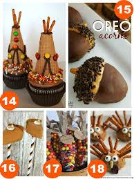 31 thanksgiving food craft ideas