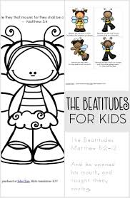 beatitude crafts and activities for sunday from www