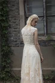 vintage lace wedding dress aliexpress buy vintage lace boho wedding dress robe de
