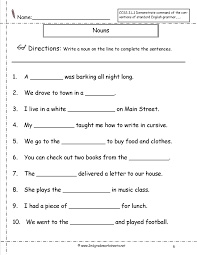 noun worksheets grade 3 free worksheets library download and