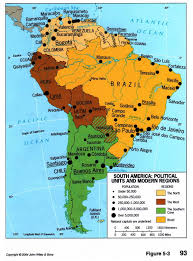 Bogota Colombia Map South America by South America Political Divisions And Regions 2004