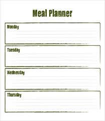 28 meal plan templates free u0026 premium templates