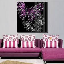 Purple Living Room Accessories Uk Dropshipping Purple Butterfly Room Decor Uk Free Uk Delivery On