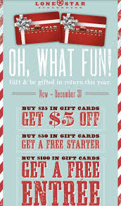 gift card specials gift card freebies and deals for the holidays s
