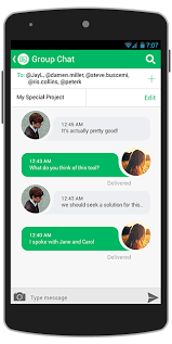chat app design template for android java binpress - Chat For Android