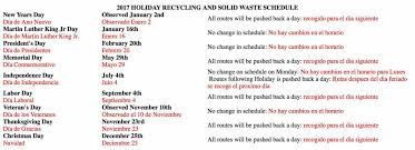 trash and recycle collection schedule city of reading pennsylvania