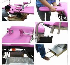 massage table with stirrups china multi function manual hydraulic table electric operating room