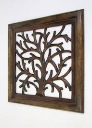 sh15755 carved wooden wall panel wall hanging tree