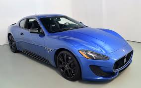 maserati granturismo blue 2013 maserati granturismo sport for sale in norwell ma 067306