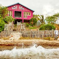 bohemian jamaican beach cottage coastal living