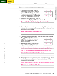 punnett square worksheet answers free worksheets library