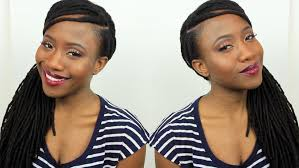 hairstyles for little girls with no edges how to cover up fill in thinning edges hairline loc style