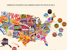 cheap halloween candy favorite halloween candy by state business insider