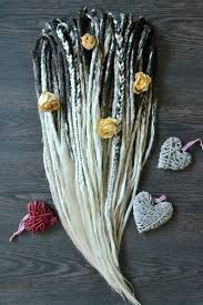 Tailes Ombre Synthetic Double Ended Dreads Full Set Of Blonde Dreads