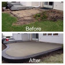 Dyed Concrete Patio by Best 25 Concrete Resurfacing Ideas On Pinterest Driveway