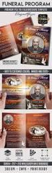 Where To Print Funeral Programs Funeral Program U2013 Premium Bi Fold Psd Brochure Template U2013 By