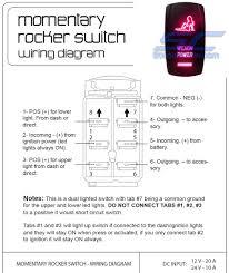 boat light switch wiring diagram pressauto net best lighted rocker
