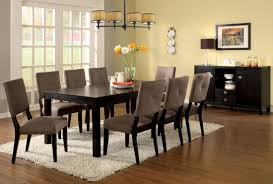 espresso rectangular dining table bay side i espresso rectangular leg dining room set from furniture