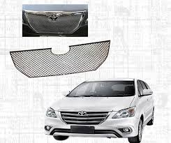 jaguar grill auto pearl chrome plated front grill for toyota innova new