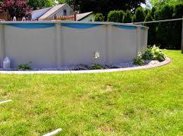 Backyard Above Ground Pool Ideas Furniture Tasty Backyard Above Ground Pool Landscaping Ideas