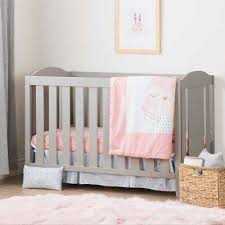 Baby Crib With Mattress Included Cribs Mattresses Baby Furniture The Home Depot
