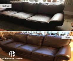 Leather Sofa Dyeing Service Gallery Before After Pictures All Furniture Services
