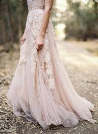 chagne wedding dress blush wedding dresses for the modern mywedding