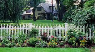 decorative garden fencing uk decoration