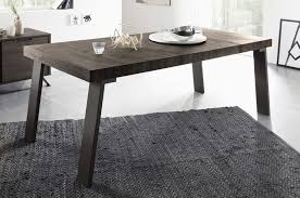 palma large dining table w metal legs wenge buy online at best