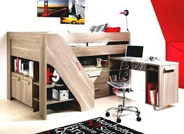 Built In Desk Ideas Loft Beds Loft Bed Storage Ideas With A Built In Desk And Play