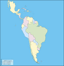 Latin America Map Printable by Outline Map Of Central And South America Outline Map Of Central