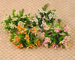 Cheapest Flowers Aliexpress Com Buy Artificial Beads Mini Fruits Floral Stamens