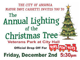 the valley voice ansonia to hold annual christmas tree lighting