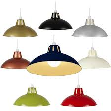 Light Bulb Shades For Ceiling Lights Retro Metal Lshade Coolie Ceiling L Light Shade Pendant