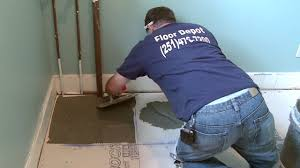 Installing Ceramic Tile Floor Tiling Concrete And Wood Floors Today S Homeowner