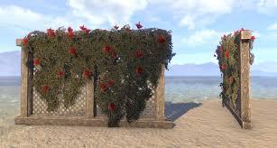 eso fashion wedding flower trellis