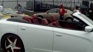 dodge charger convertible dodge charger srt8 convertible on 24 forgiato s stuntfest 2k13
