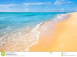 Sand Beach by Sand Beach Water Background Royalty Free Stock Photography Image