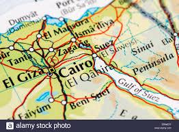 Up Map Egypt Cairo Map Stockfotos U0026 Egypt Cairo Map Bilder Alamy