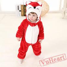 fox kigurumi onesies pajamas toddler pajamas for baby