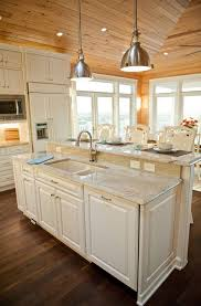 kitchen island countertop ideas best 25 raised kitchen island ideas on kitchen island