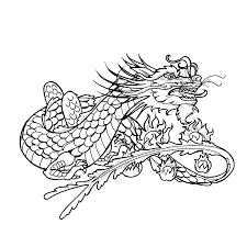 dragon tattoo stencils dragon tattoo stencils pinterest